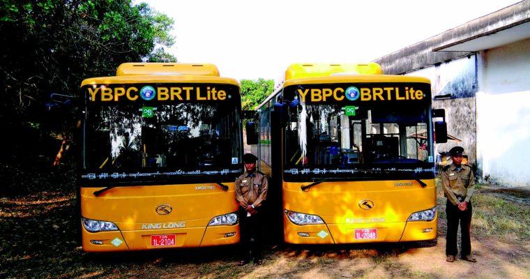 Attractive Transportation of Yangon