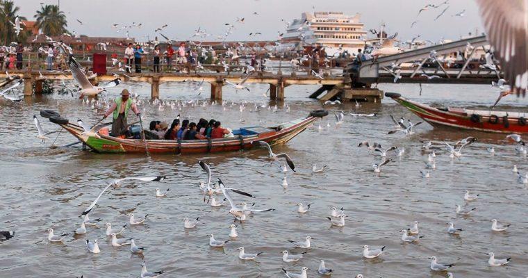 River Cruise in Rangoon