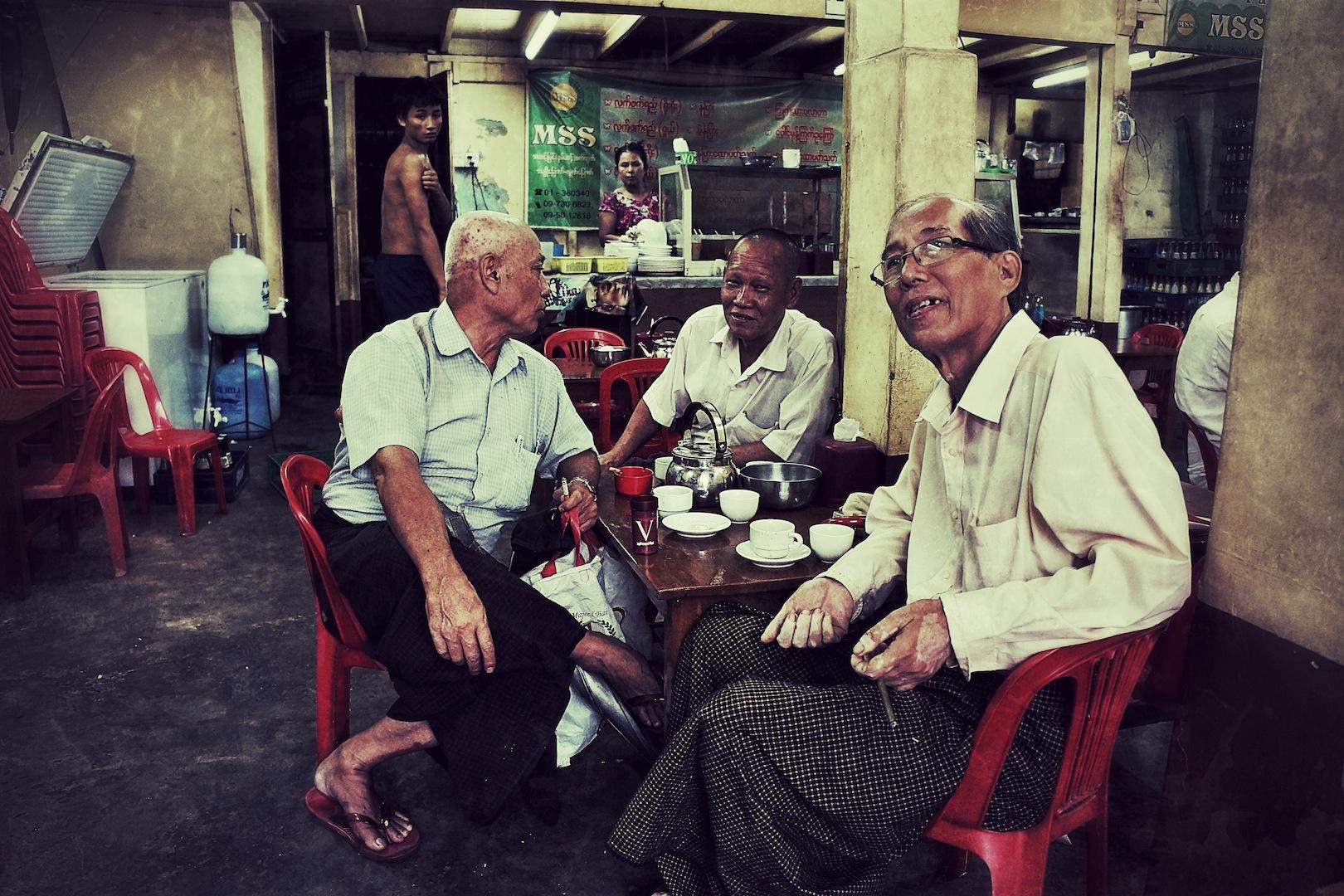 Yangon Tea Houses