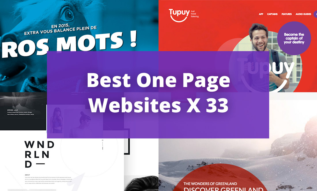 IP Special One Page Web Design